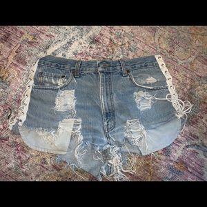 LF Furst of A Kind denim shorts
